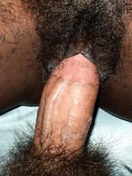 Kinky-haired cocksucking black GF