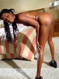Black girlfriends posing naked for..