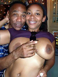 Amateur ebony milfs took off their..
