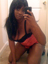 Black hottie travels naked, She looked..