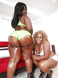 Adult fatty ebony babes MzBooty and..