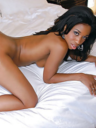 Ebony hottie Jade Nacole fucking and..
